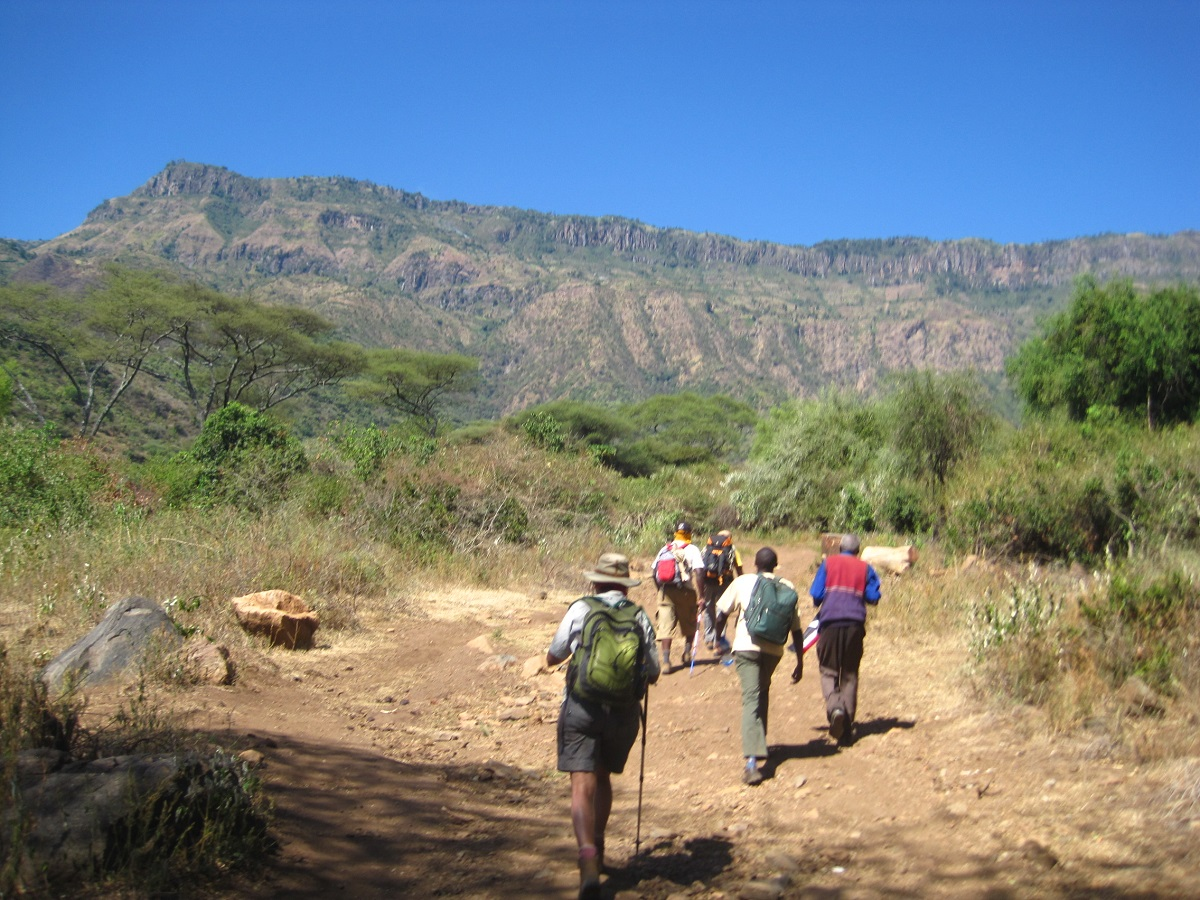 Trekking on the Trans Rift Trail